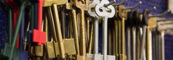 Заготовки для ключей к замкам разных типов