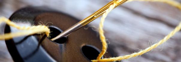 Нитки, пуговицы, молнии и другая швейная фурнитура
